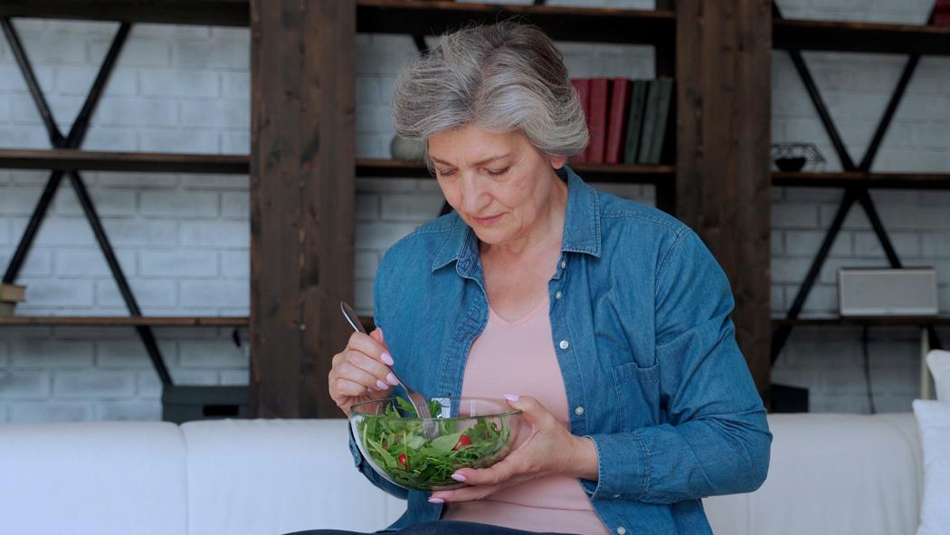 perdre du poids après 60ans